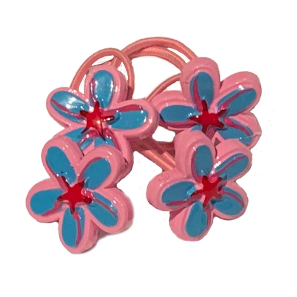 Pink Poppy | Funky Flower Hairtie