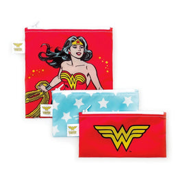 Bumkins | Snack Bag Combo 3pk - Wonder Woman