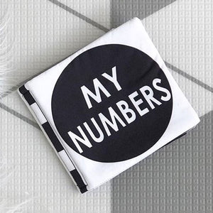My Family Book | Luxe Soft Book - My Numbers