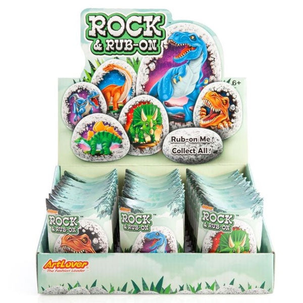 ArtLover | Dinosaur Rock Rub-On