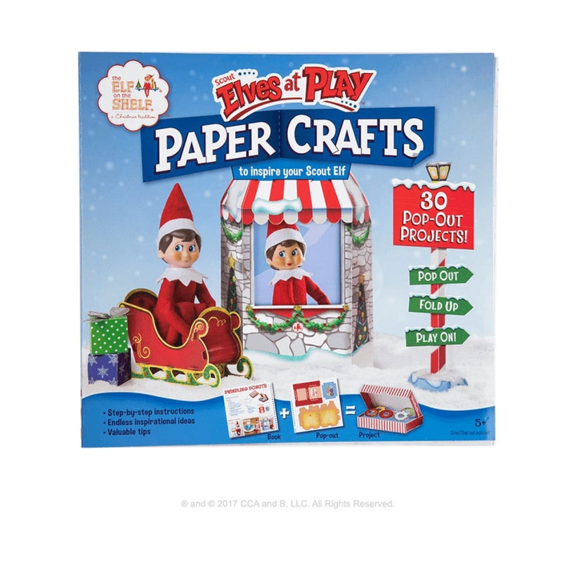 Elf on the Shelf | Elf Paper Craft Set