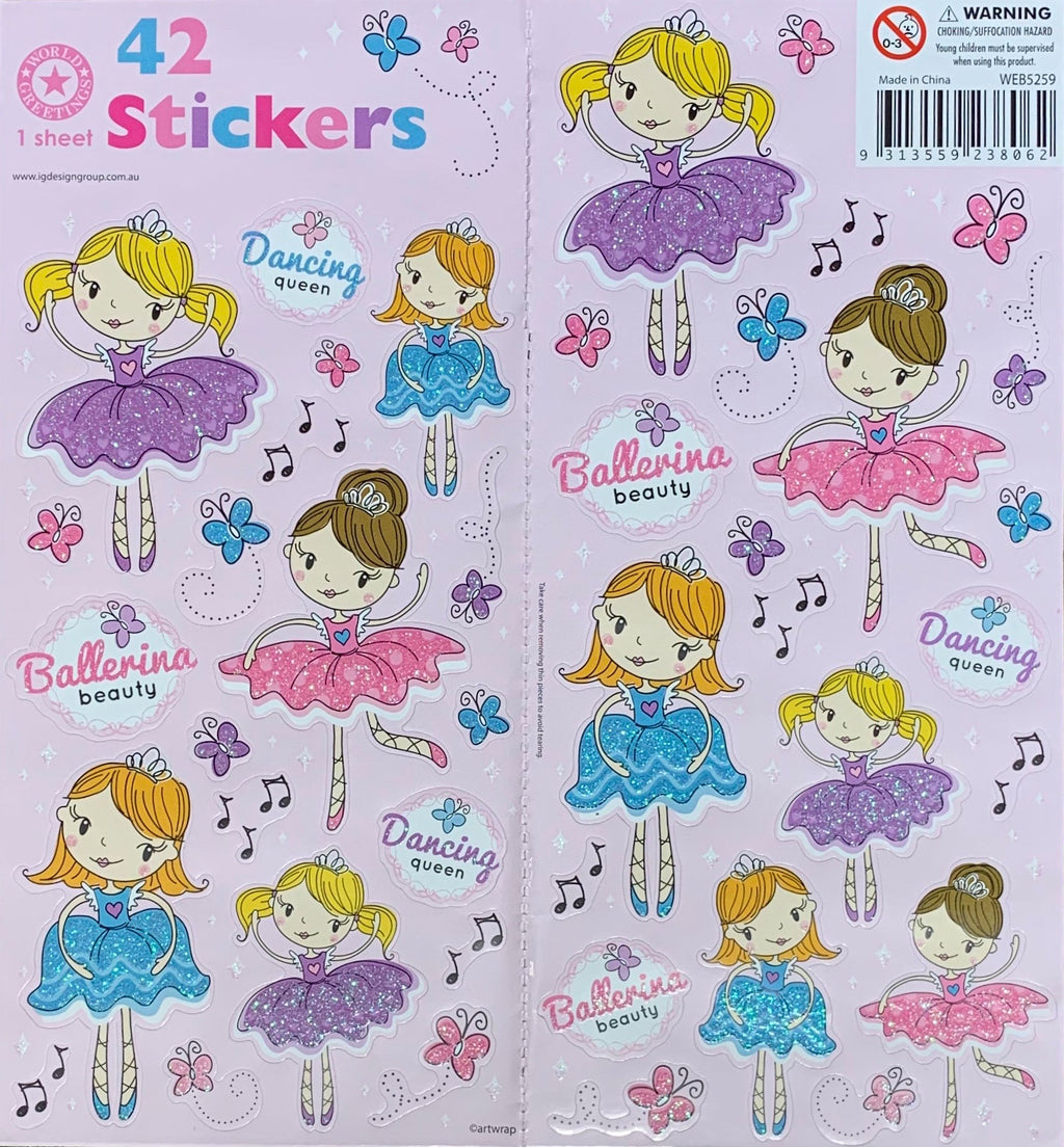 Sticker Sheet | Dancing Queen
