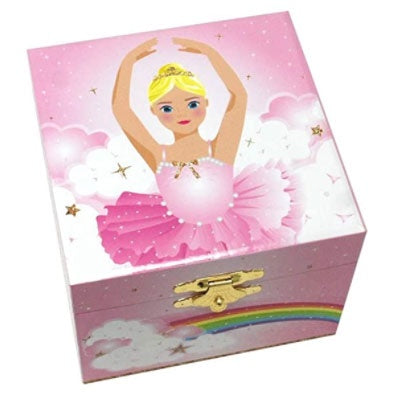 Pink Poppy | Musical Jewellery Box Small - Ballet Dancer