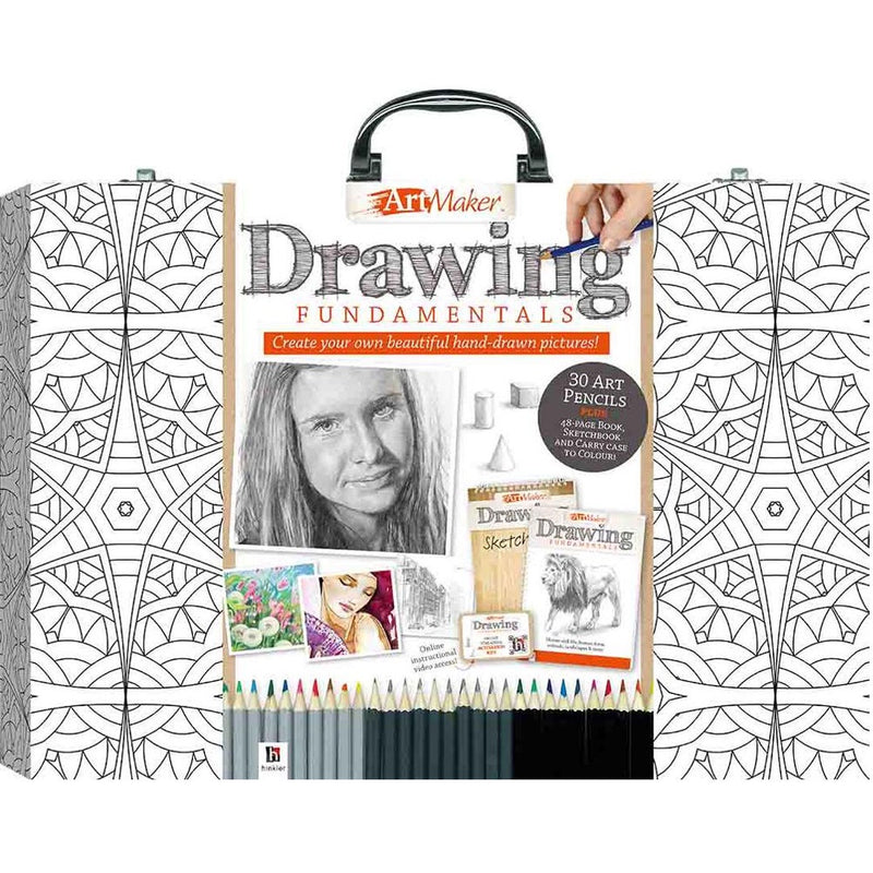 Hinkler | Art Maker - Drawing Fundamentals Carry Case
