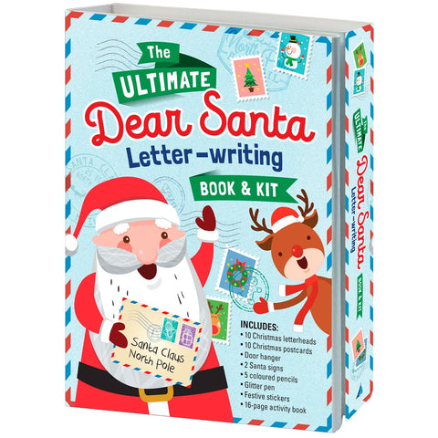 Ultimate Dear Santa Letter Writing Kit