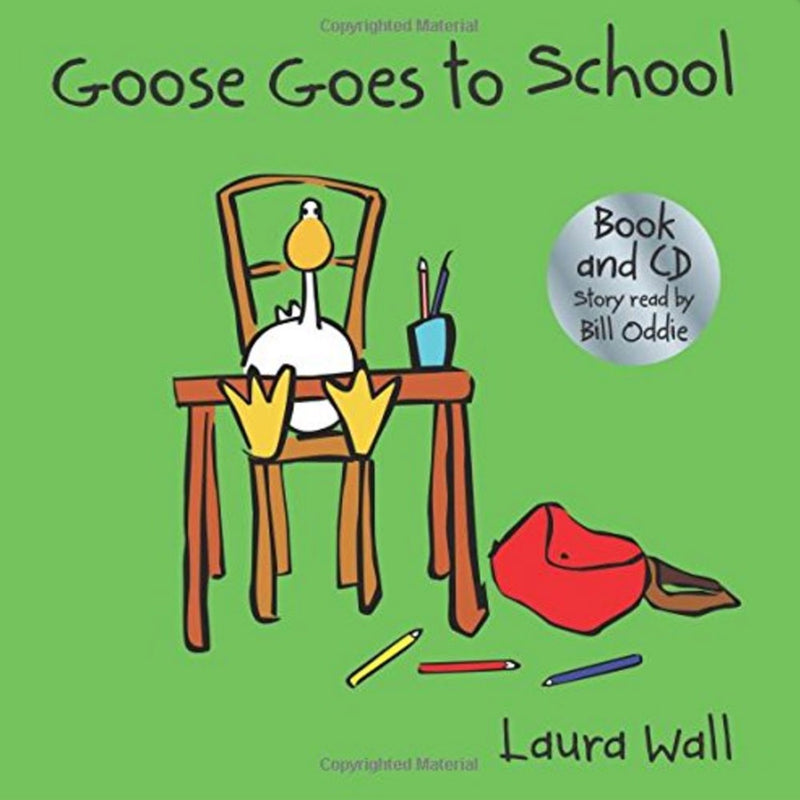 Goose Goes to School - Book and CD