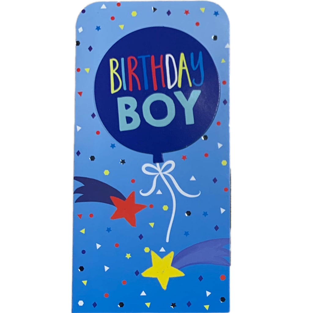 Birthday Card | Money Wallet - Birthday Boy