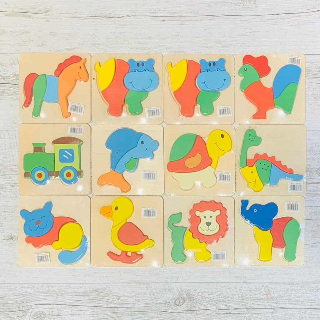 Small Wooden Jigsaws