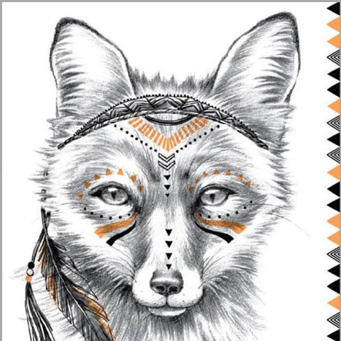 Birthday Card | Cherokee Fox