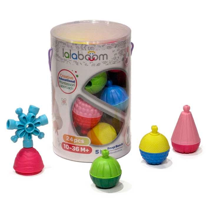 Lalaboom | 24 Piece Assorted Beads