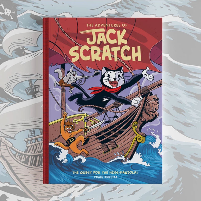 The Adventures of Jack Scratch - The Quest for the Hiss-Paniola