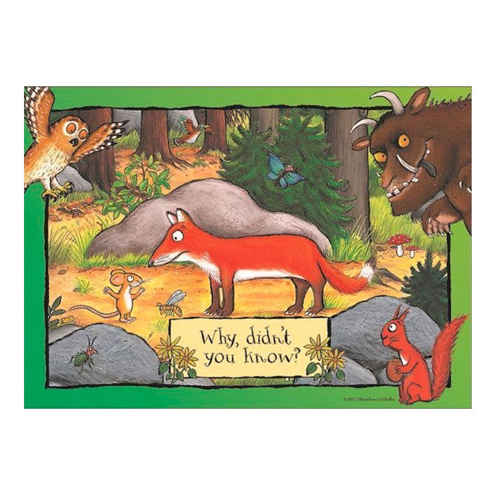 Holdson | 35 Piece Gruffalo Tray Puzzle - Why, Didn't You Know?