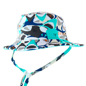 Dozer | Baby Bucket Swim Hat - Chomp