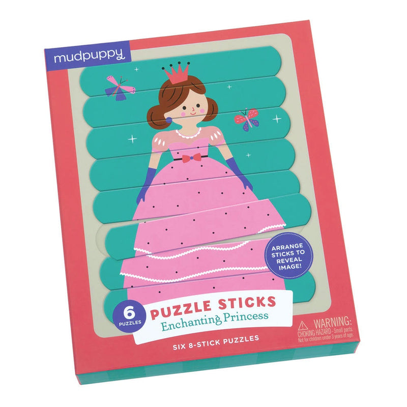 Mudpuppy | Puzzle Sticks - Enchanting Princess