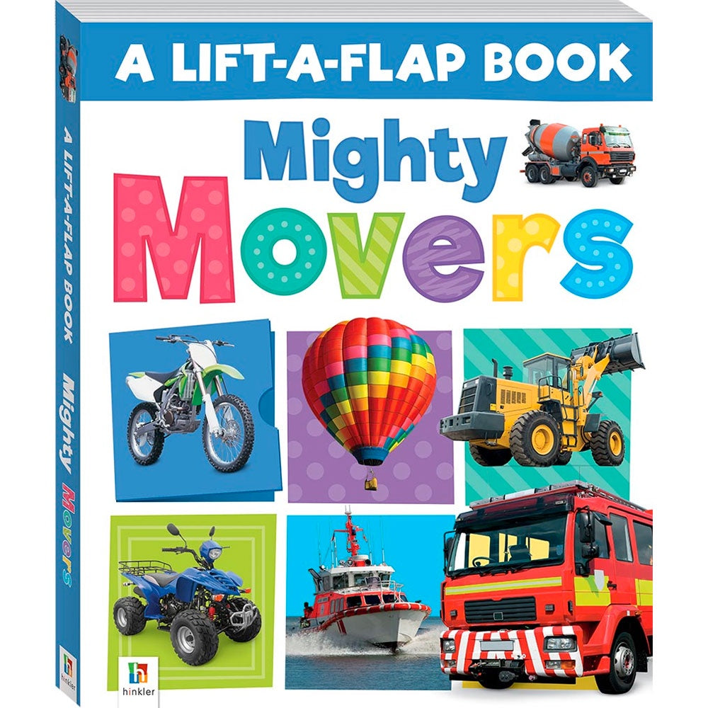 Hinkler | Lift-The-Flap - Mighty Movers