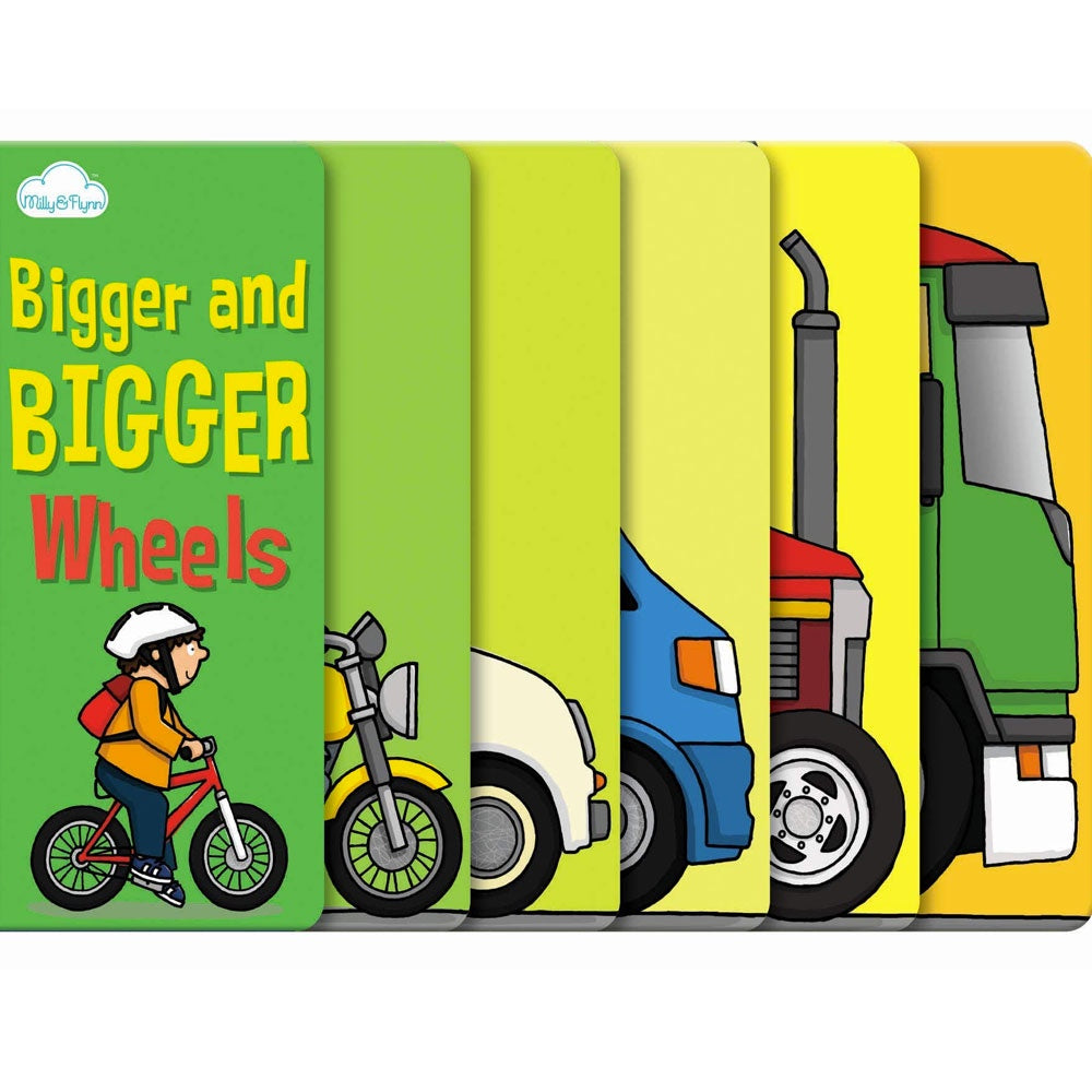 Millie and Flynn | Bigger and Bigger Wheels
