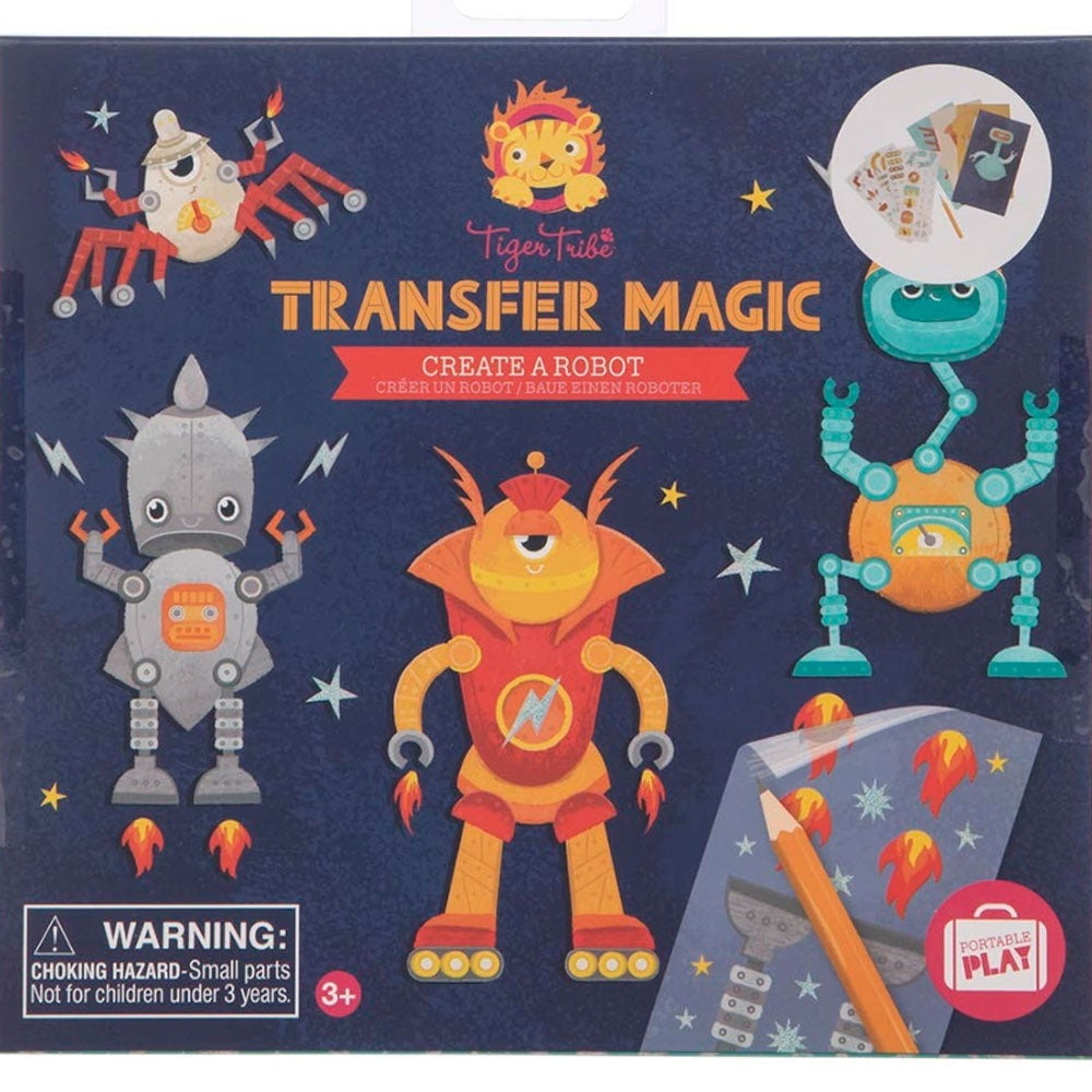 Tiger Tribe | Transfer Magic - Create a Robot