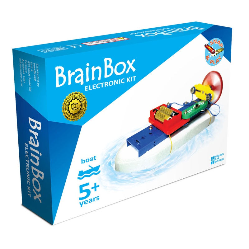 BrainBox | Jet Boat Experiment