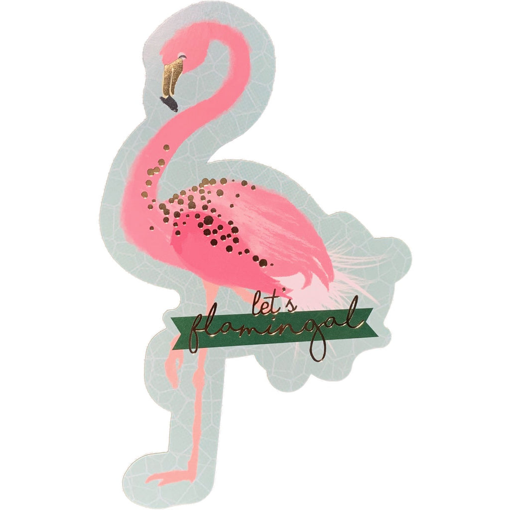 Birthday Invitations | Flamingo Cutout