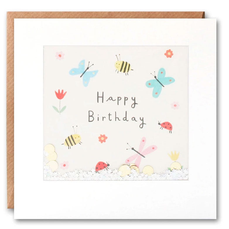 James Ellis | Birthday Cards Happy Birthday - Butterfly Bee