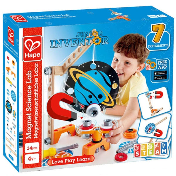 Hape | Junior Inventor - Magnet Science Lab