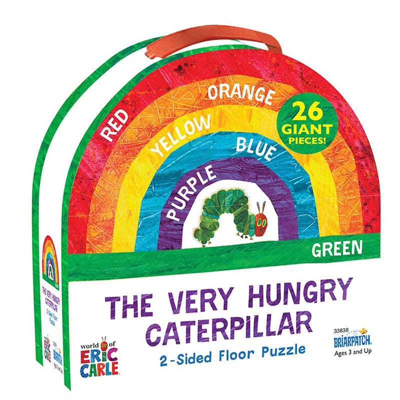 World Of Eric Carle | The Very Hungry Caterpillar 2 Sided Floor Puzzle