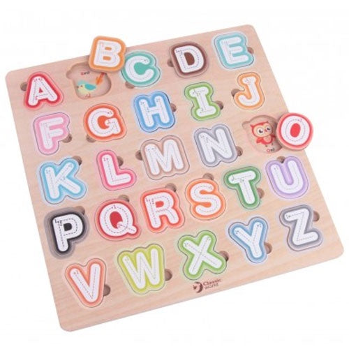 Classic World | Alphabet Puzzle