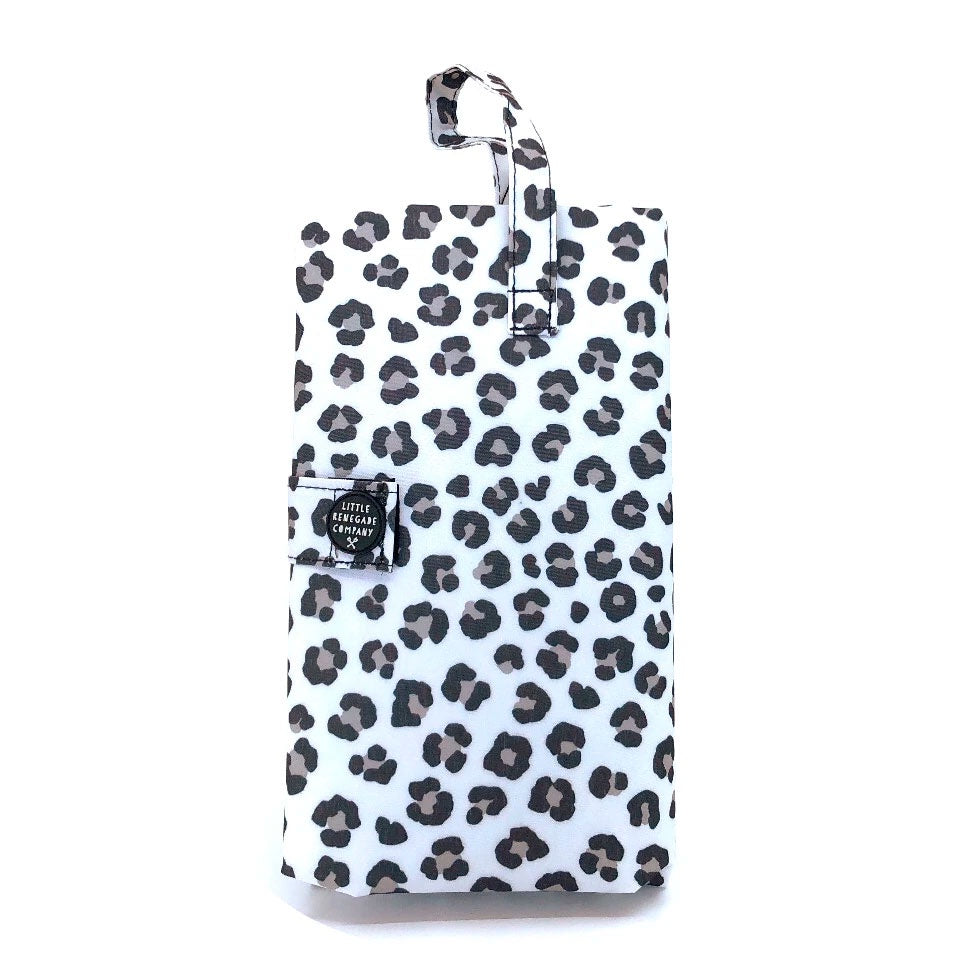 Little Renegade | Nappy Change Mat - Snow Leopard