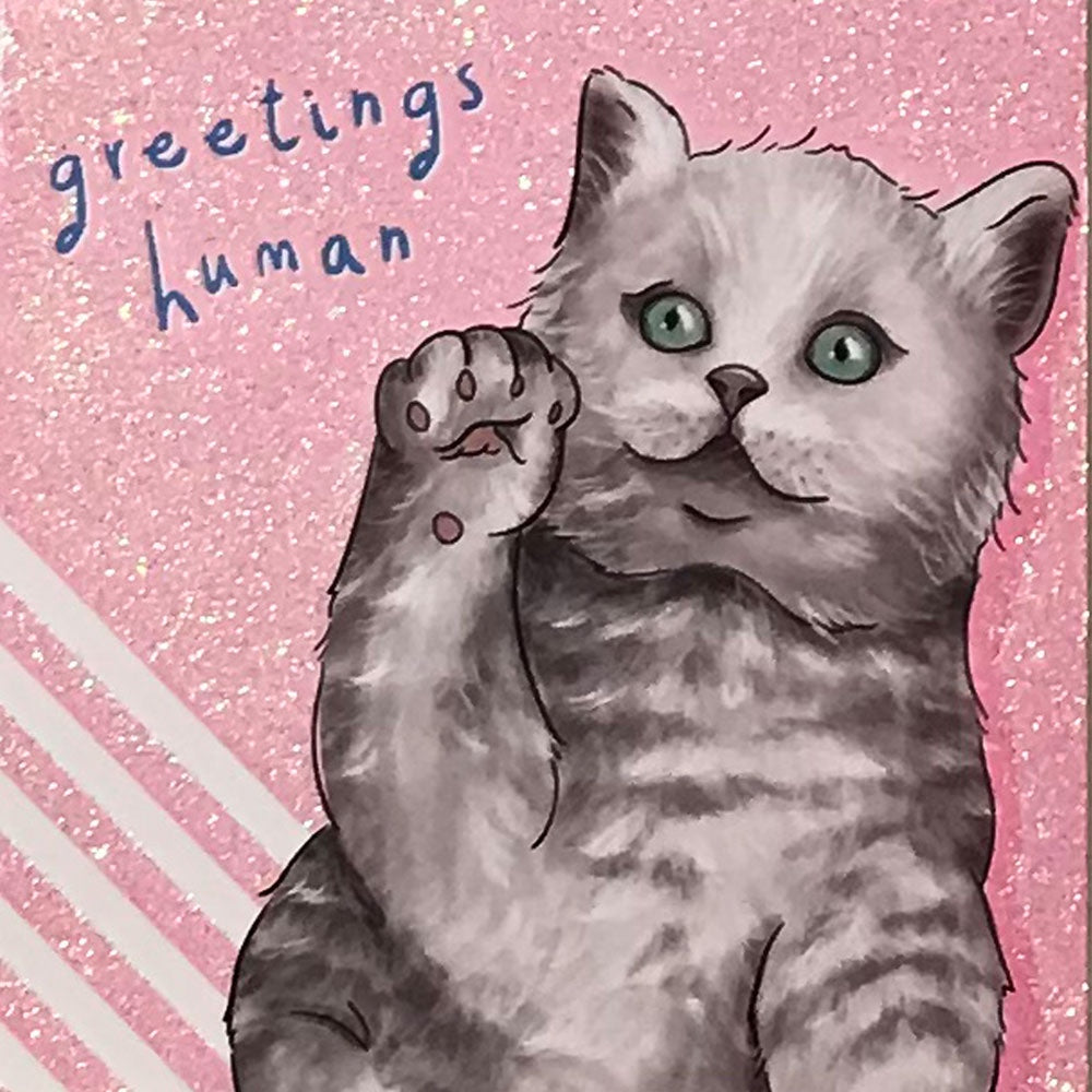 Birthday Card | Critter Chatter Cat