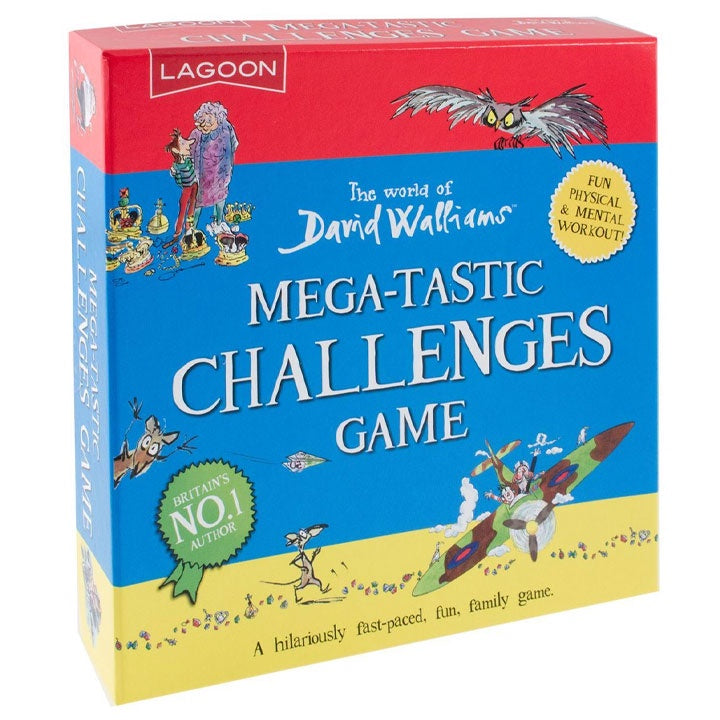 David Walliams | Mega-Tastic Challenges Game
