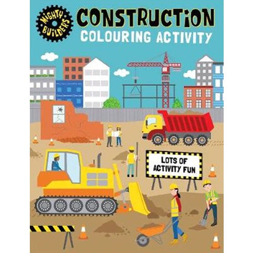 Mighty Builders Construction | Activity Book