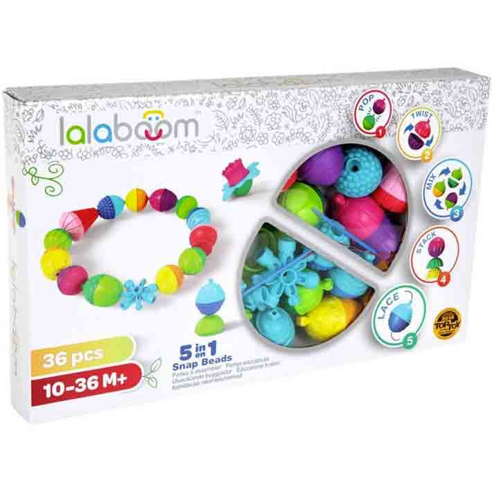 Lalaboom | 36 Piece Assorted Beads