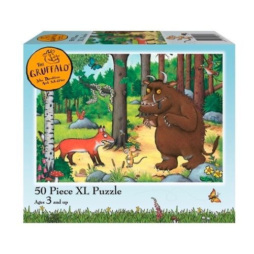 Holdson | The Gruffalo 50 Piece XL Puzzle - Fox
