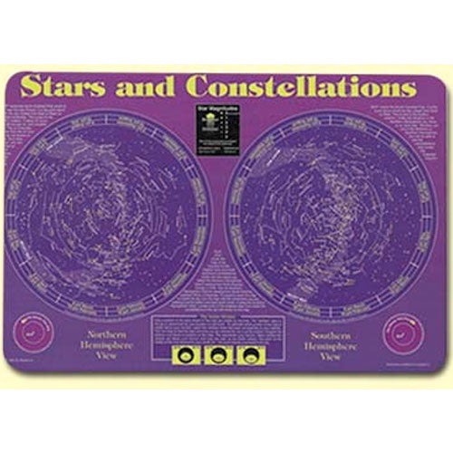 Learning Placemats | Stars and Constellation