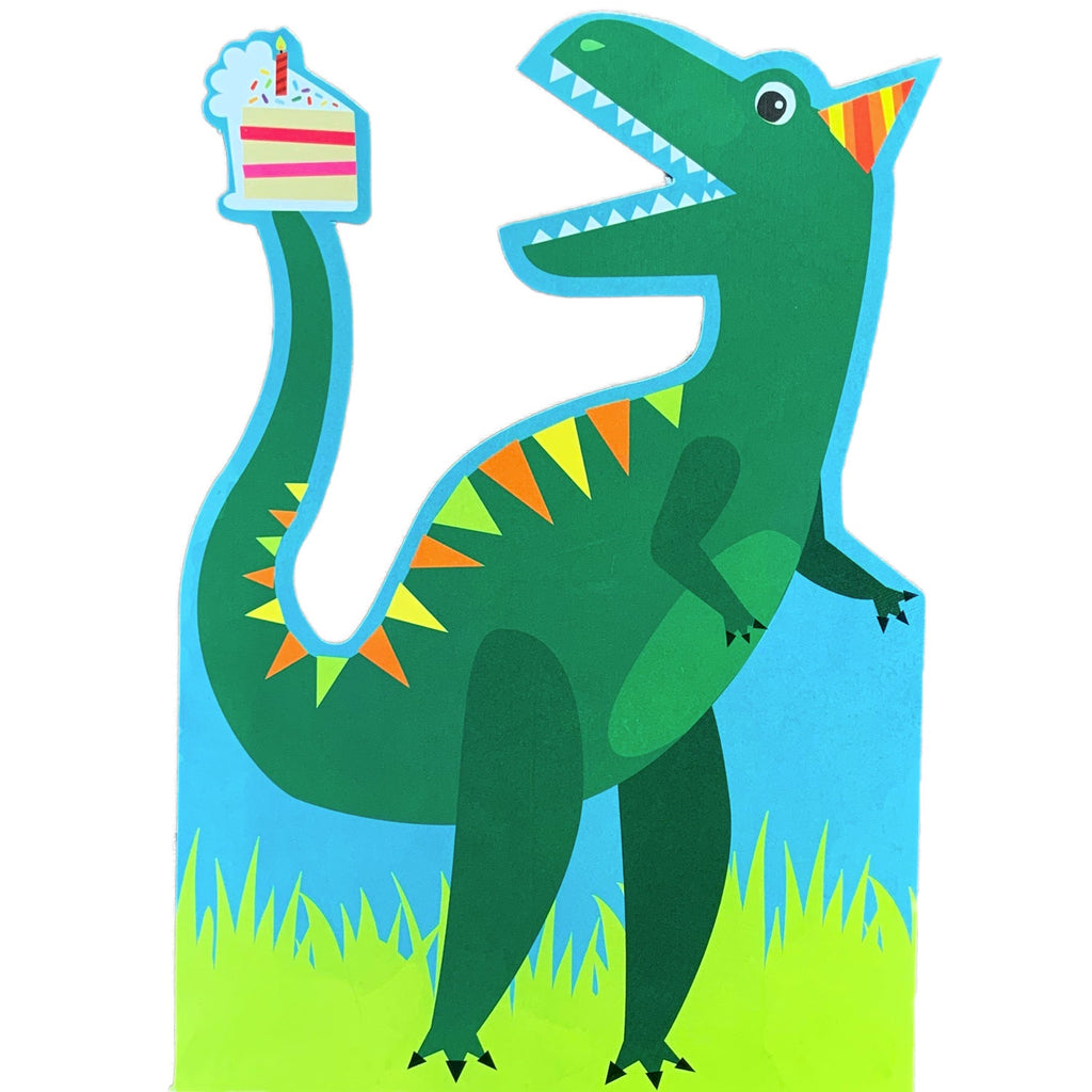 Birthday Invitations | Dinosaur Roar Cutout