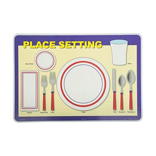 Learning Placemats | Place Setting