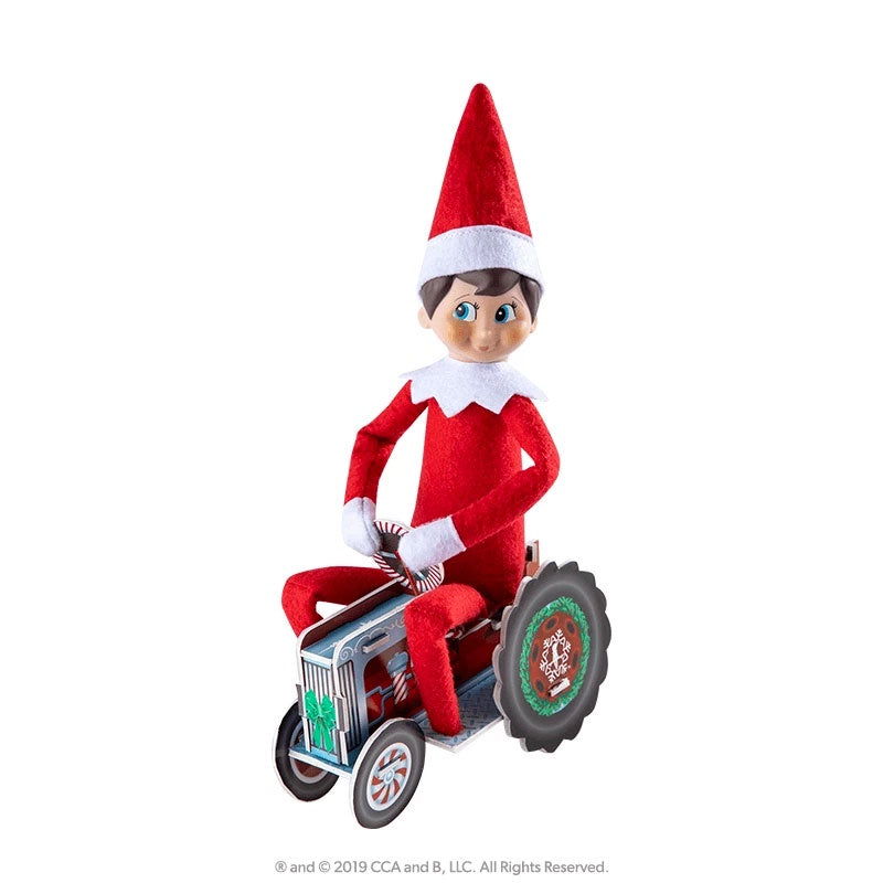 Elf On The Shelf | Orna Moments - Twinkle Tractor