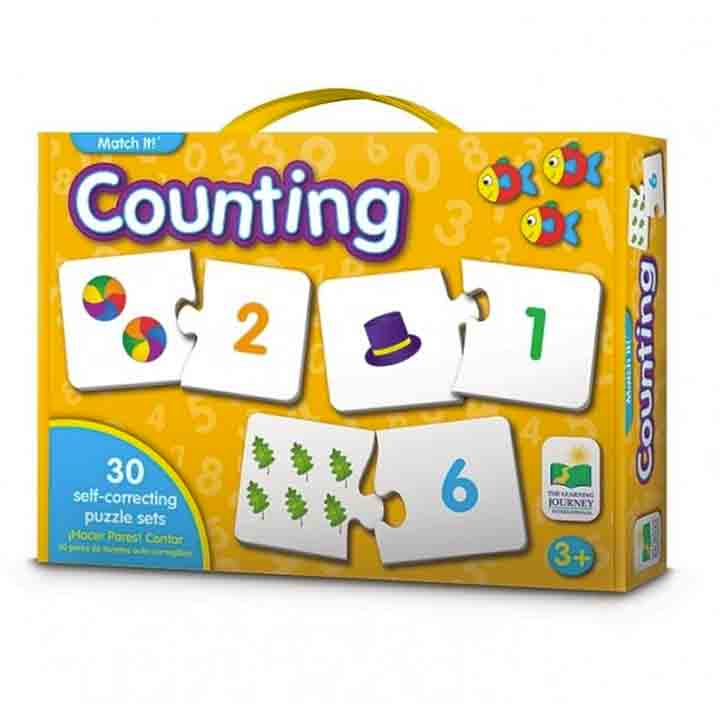 The Learning Journey | Match It - Counting