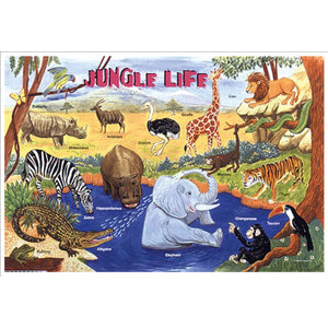 Learning Placemats | Jungle Life