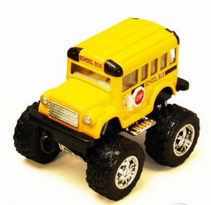 Kinsfun | Die Cast - Big Wheel School Bus