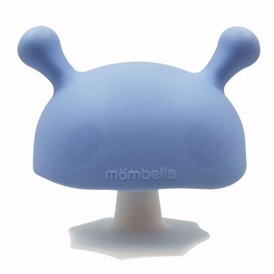 Mombella | Mushroom Soothing Teether - Blue