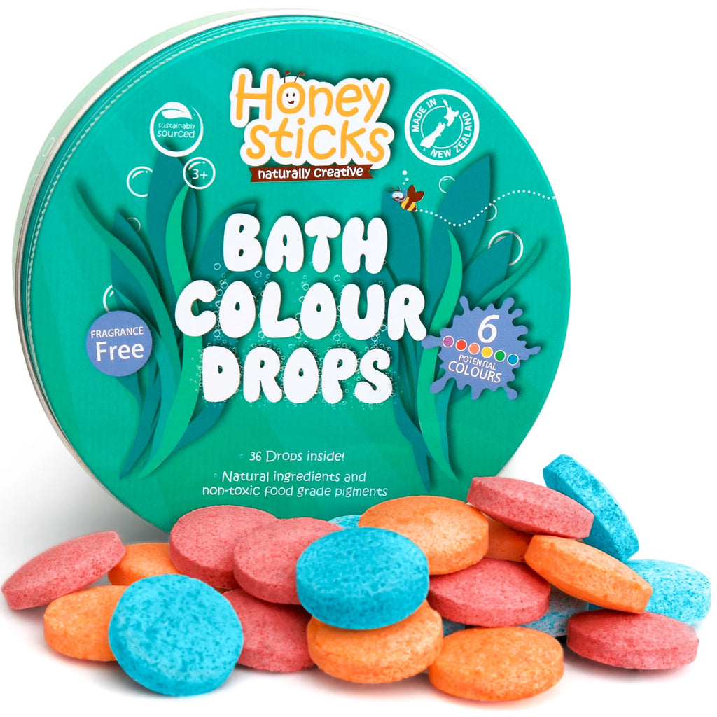 Honey Sticks | Bath Colour Drops