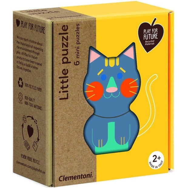 Clementoni | Little Puzzle - Animals - 6 Mini Puzzles