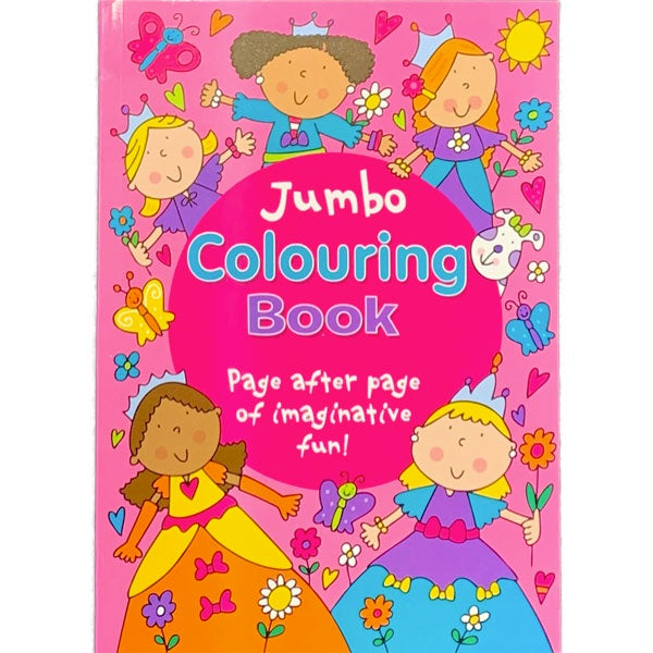 Princess Jumbo Colouring Book