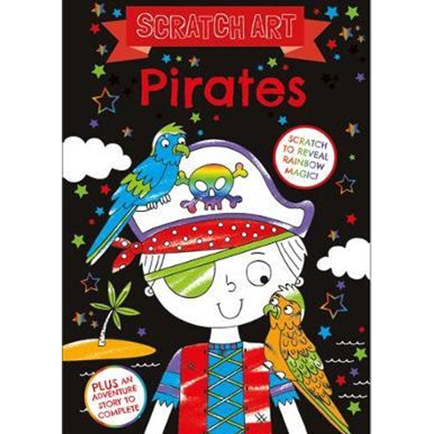Bookoli | Scratch Art - Pirates
