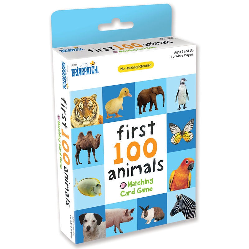 BriaPatch | First 100 Matching Game - Animals