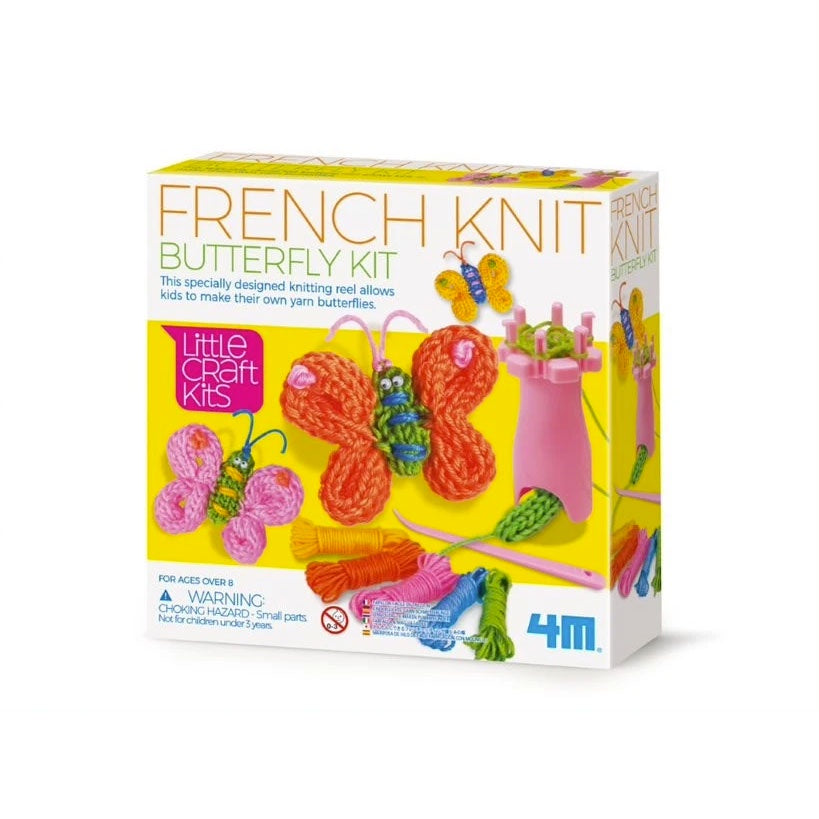 4M | French Knit Butterfly Kit