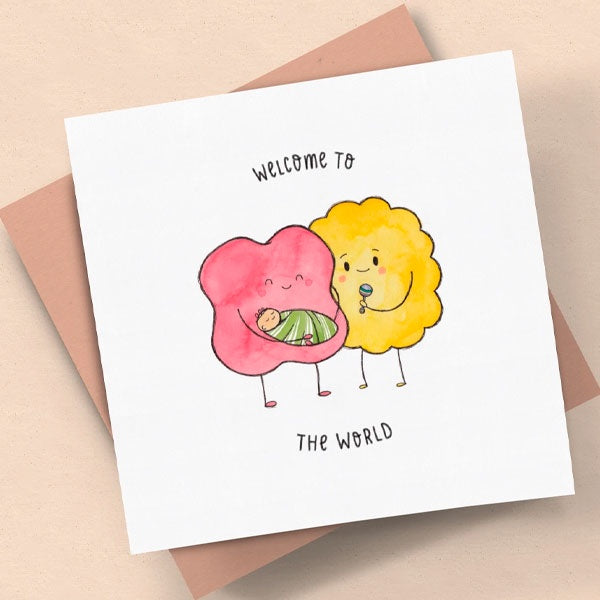 The Kiss Co | Welcome To Our World Card
