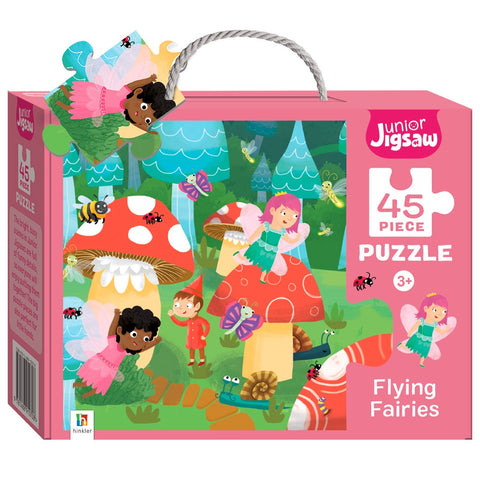 Hinkler | 45 Piece Puzzle - Flying Faries