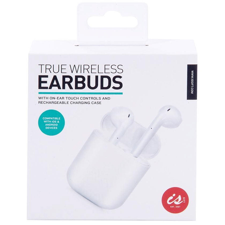 IS Gifts | True Wireless Earbuds - White